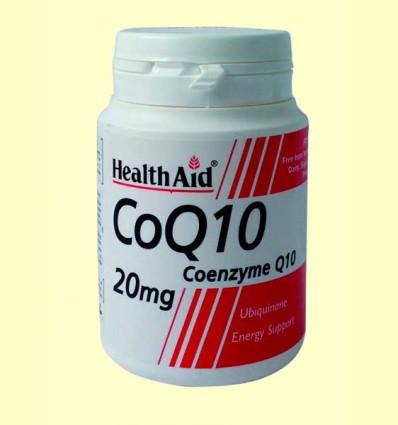 CoQ-10 20 mg - Coenzima Q-10 - Health Aid - 30 comprimidos