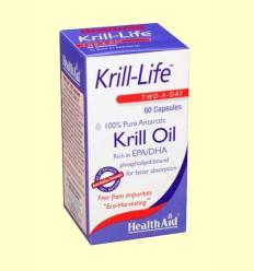 Krill-Life - Health Aid - 60 cápsulas