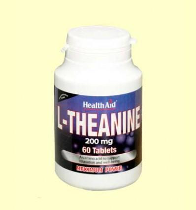 L-Teanina 200 mg - Health Aid - 60 comprimidos