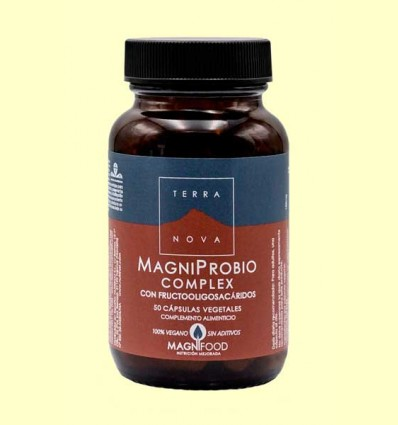 MagniProbio Complex - Probióticos y prebióticos - Terra Nova - 50 cápsulas