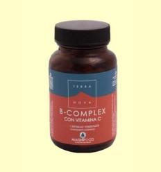 B-Complex con Vitamina C - Terra Nova - 100 cápsulas