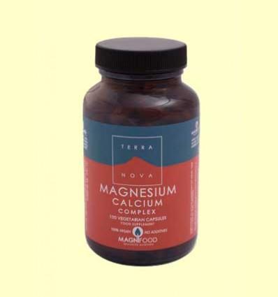 Magnesio Calcio Complex 2:1 - Magnesium Calcium - Terra Nova - 100 cápsulas