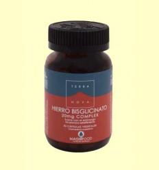 Hierro Bisglicinato 20 mg Complex - Terra Nova - 50 cápsulas