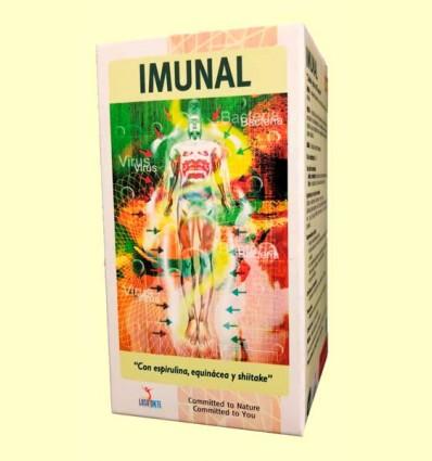 Imunal - Espirulina, Equinácea y Shiitake - Lusodiete - 100 cápsulas