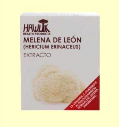 Melena de León - Hericium erinaceus - Hawlik - 60 de cápsulas