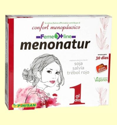 Menonatur - Menopausia - Pinisan Laboratorios - 30 cápsulas