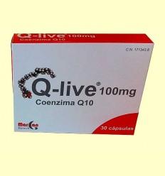 Q-live 100 mg - Margan Biotech - 30 cápsulas