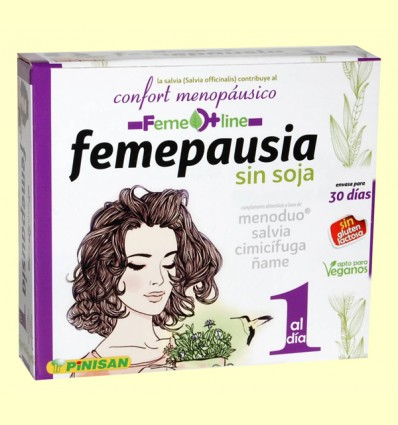 Femepausia - Pinisan - 30 cápsulas