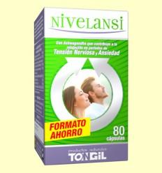 Nivelansi - Ayuda contra el estrés y la ansiedad - Tongil - 80 cápsulas