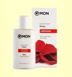 Leche limpiadora facial de Rosas - Mon Deconatur - 200 ml
