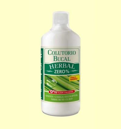 Colutorio Bucal Herbal Zero% - Natysal - 1 l