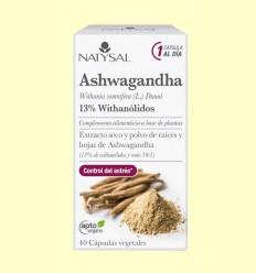 Ashwagandha - Natysal - 40 cápsulas