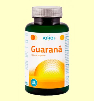 Guaraná Natural en Polvo - Sakai - 65 gramos