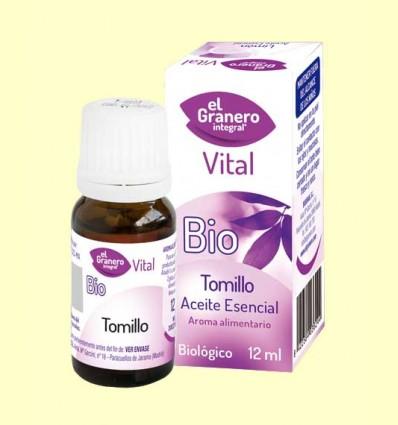 Aceite esencial Tomillo Bio - El Granero - 12 ml