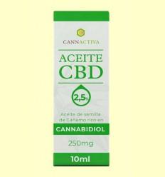 Aceite de CBD 250 mg - Cannactiva - 10 ml