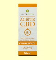 Aceite de CBD 500 mg - Cannactiva - 10 ml