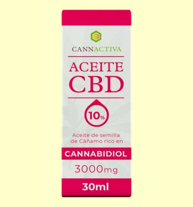 Aceite de CBD 3000 mg - Cannactiva - 30 ml
