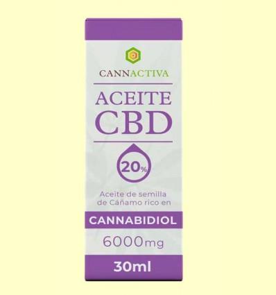 Aceite de CBD 6000 mg - Cannactiva - 30 ml