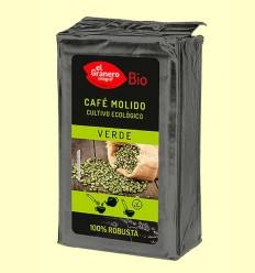 Café Verde 100% Robusta Molido Bio - El Granero - 400 g