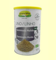 Lino germinado - molido - Granovita - 500 g