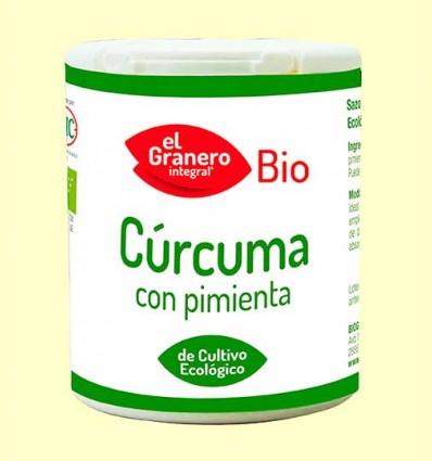 Especiero Cúrcuma + Pimienta Bio - El Granero - 75 g