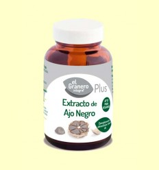 Extracto de ajo negro 400 mg - El Granero - 90 comprimidos
