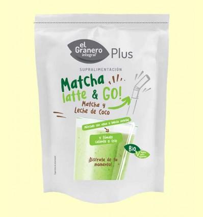 Matcha Latte & Go Bio - El Granero - 150 g