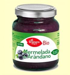 Mermelada de Arándanos Bio - El Granero - 330 g