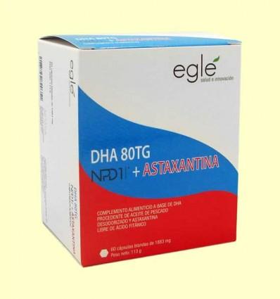 DHA 80 TG NPD1 + Astaxantina - Egle - 60 cápsulas
