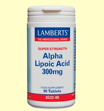 Ácido Alfa Lipoico 300 mg - Lamberts - 90 tabletas