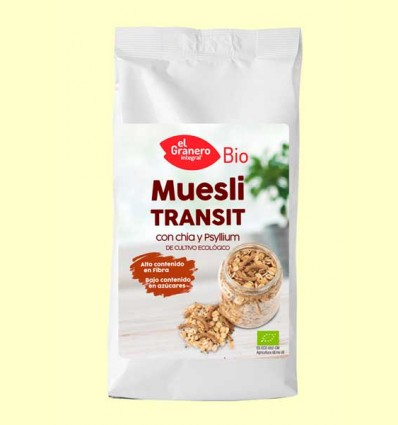 Muesli Transit con Chía y Psyllium Bio - El Granero - 500 g