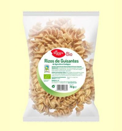 Rizos de Guisantes Bio - El Granero - 70 g