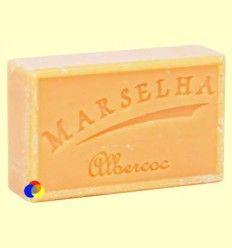 Pastilla Jabón Natural Albaricoque - Marselha - 125 gramos