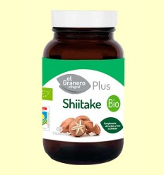 Shiitake 400 mg Bio - El Granero - 60 cápsulas