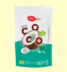 Copos de Coco Tostados Snack Bio - El Granero - 80 g *