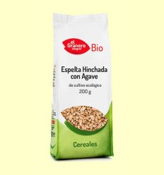 Trigo Espelta Hinchado con Agave Bio - El Granero - 200 g