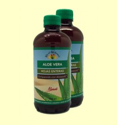 Zumo de Aloe Vera 99,7% Hojas Enteras - Lily of the desert - 2 x 946 ml