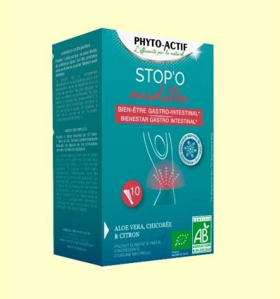 Stop'o Acidités Bienestar Gastrointestinal - Phyto Actif - 10 sticks