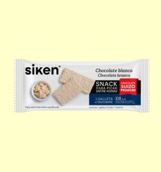 Galleta Chocolate Blanco Suizo - Siken Form - 32 barritas