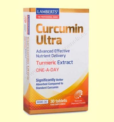 Curcumin Ultra - Lamberts - 30 tabletas