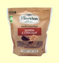 Muesli Crunchy Quinoa y Chocolate - Favrichon - 450 g