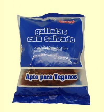 Galletas Dietéticas con Salvado - Sanavi - 300 gramos