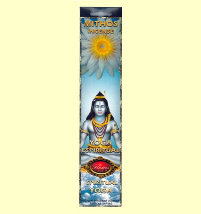 Incienso Mithos Yoga Espiritual - Flaires - 16 barras