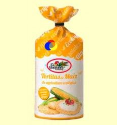 Tortitas de maíz bio - El Granero - 100 gramos