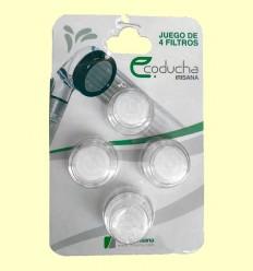 Filtro de partículas IR16 Eco Ducha - Irisana - 4 filtros