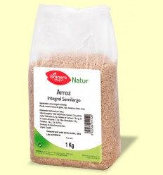 Arroz Integral Semilargo - El Granero - 1 kg