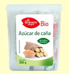 Azúcar de caña en sticks Bio - El Granero - 300 g.
