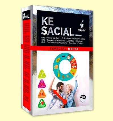 Kesacial - Control del Peso - Novadiet - 30 cápsulas