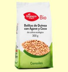 Bolitas de Quinoa con Agave y Coco Bio - El Granero - 300 g