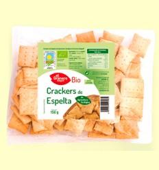 Crackers de Trigo Espelta con Sésamo Bio - El Granero - 150 gramos